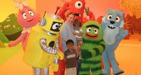 Yo gabba Gabba look a like costume