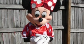 Ms.Mouse Party Character