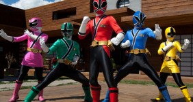 Power ranger theme birthday party