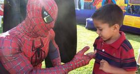 Spiderman look a like theme