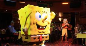Sponge themed birthday party